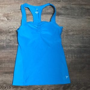 Old navy active tank with built in bra